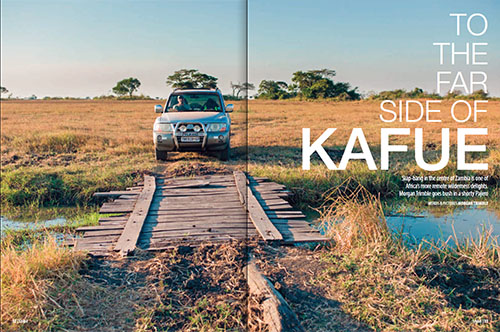 to the far side of kafue small