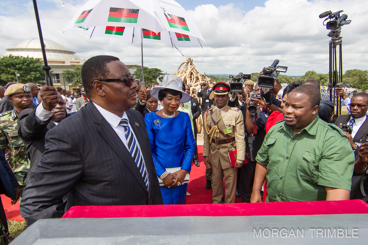 Malawian President Mutharika