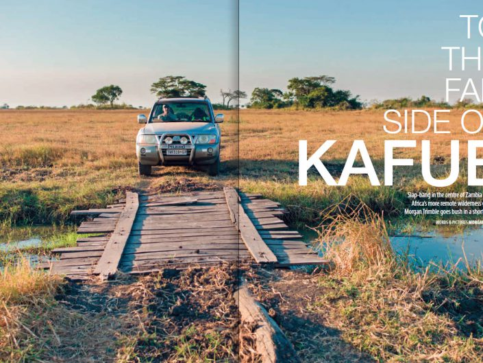 To the far side of Kafue