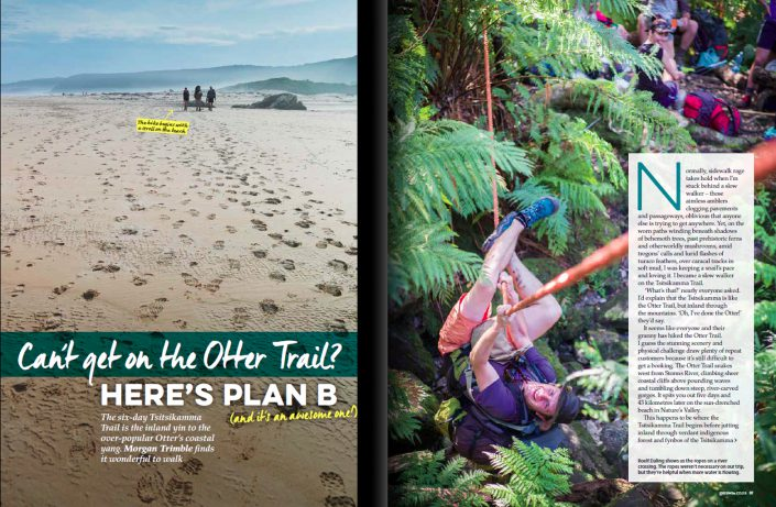 "The ""Other"" trail: Hiking the Tsitsikamma"