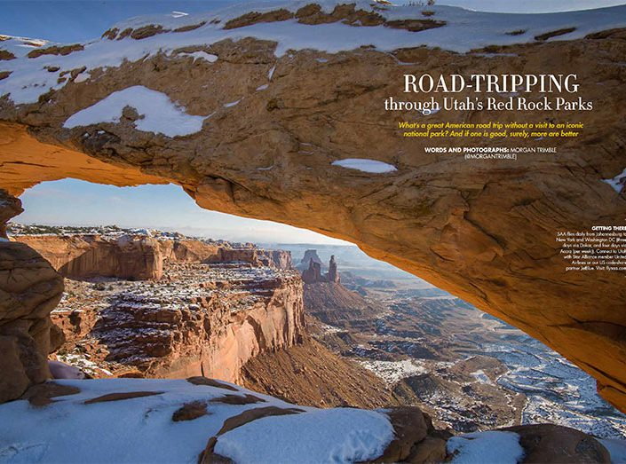 Road-tripping through Utah's red rock parks