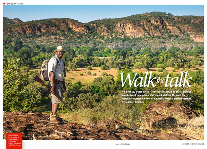 Walk the Talk in Kruger's Pafuri Region