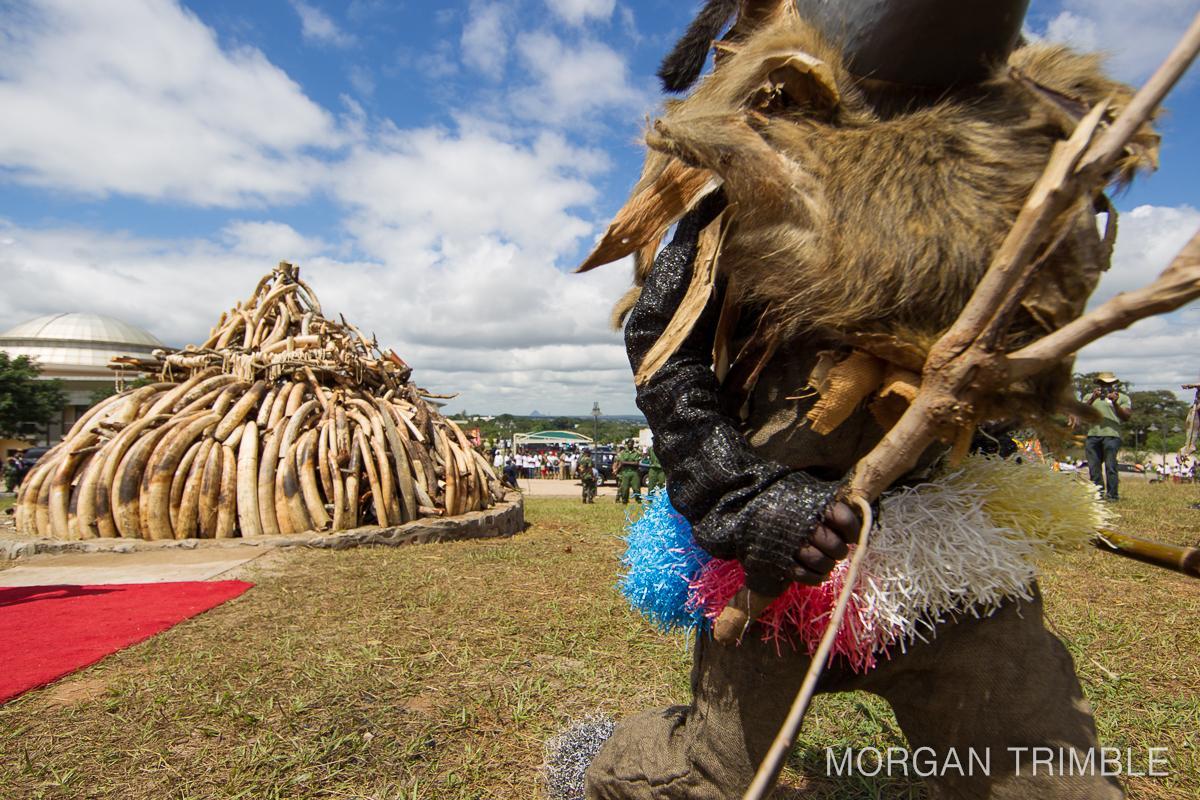 Gule wamkulu at ivory burn