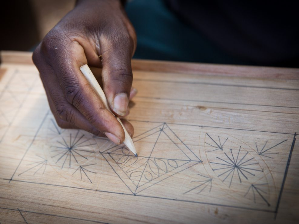 Wood from the Mulanje cedar is pleasantly fragrant and prized for woodworking. Carvers at the foot of the mountain work openly even though there is no legal source for the timber. Large-scale syndicates exporting the wood pose a much greater threat than local use.